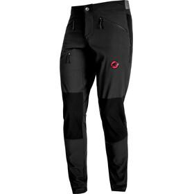 Mammut Pordoi - Pantalones de Trekking Hombre - Short negro